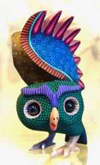 Oaxacan Owl with Marble Eyes
