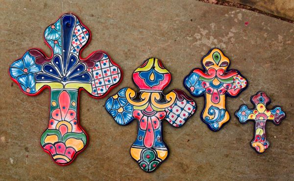 Talavera Crosses ($14-$34)