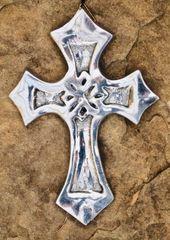 Gothic Metal Cross - Nicaragua - small