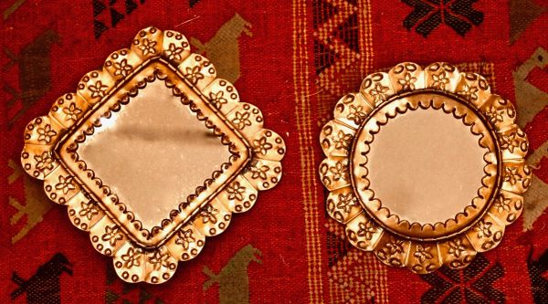 Copper Framed Mirrors - Small