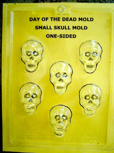 Sugar Skull Mold - Small 1 piece