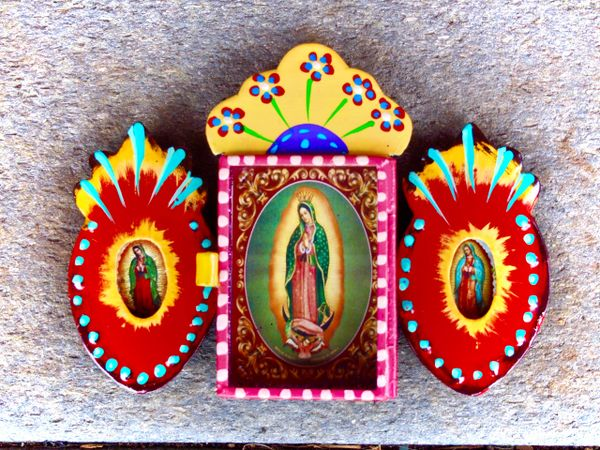 Triple Nicho - Our Lady of Guadalupe