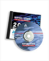 AWWA-53007 Waterstats 2002 Water Utility Distribution Survey CD-ROM