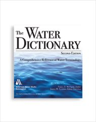 AWWA-10072 The Water Dictionary, Second Edition CD-ROM