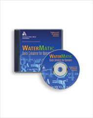 AWWA-60109 Watermath: Quick Calculator for Water Operators CD