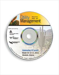AWWA-60128 2013 AWWA/WEF Utility Management Conference Proceedings
