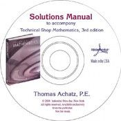 IP-33221 Technical Shop Mathematics Solutions Manual (CD-ROM in PDF) Solutions Manual