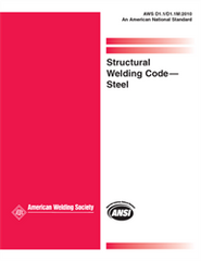 AWS- D1.1/D1.1M: 2010 Structural Welding Code (2nd Printing)