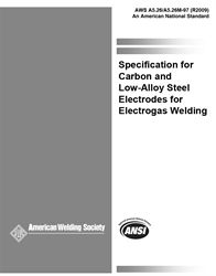 AWS- A5.26/A5.26M:1997(R2009) Carbon and Low-Alloy Steel Electrodes for Electrogas Welding