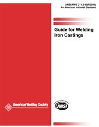 AWS- D11.2:1989(R2006) Guide for Welding Iron Castings