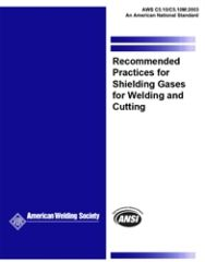 AWS- C5.10/C5.10M:2003 Recommended Practices for Shielding Gases for Welding and Cutting