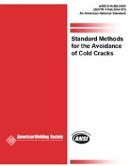 AWS- D14.8M:2009 (ISO/TR 17844:2004 IDT) Standard Method for Avoidance of Cold Cracks