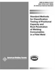AWS- A4.5M/A4.5:2012 Root Penetration of Welding Consumables in a Fillet Weld