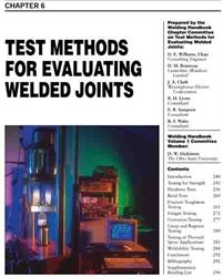 AWS- WHC1.06 Test Methods for Evaluating Welded Joints