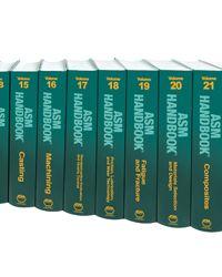 ASM-05171G-CPL ASM Handbook Complete Print Library