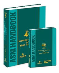 ASM-05501Z-BK+DVD ASM Handbook Volume 4C: Induction Heating and Heat Treatment, Book + DVD Set