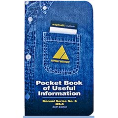 MS-6 Asphalt Pocketbook of Useful Information