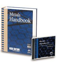 ASM-06047AZ-BK-CD-2001 Metals Handbook Desk Edition Set Sale (Book and CD)