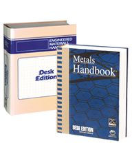 ASM-06659G-BK-SET-1998 Desk Editions Set Sale (Metals Handbook and Engineered Materials Handbook)