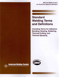 AWS- A3.0M/A3.0:2010 Welding Terms and Definitions