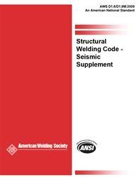 AWS- D1.8/D1.8M:2009 Structural Welding Code Seismic Supplement