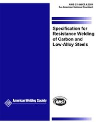 AWS- C1.4M/C1.4:2009 Specification for Resistance Welding of Carbon and Low-Alloy Steels