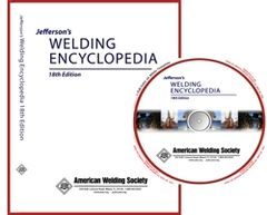 AWS-JWE CD Jefferson's Welding Encyclopedia on CD-ROM