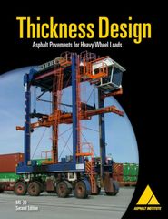 MS-23 Thickness Design: Asphalt Pavements for Heavy Wheel Loads (Manual Series)