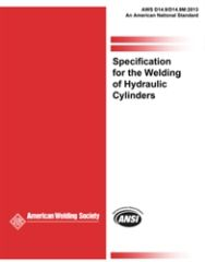 AWS- D14.9/D14.9M:2013 Specification for the Welding of Hydraulic Cylinders