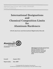 AA-GY-1 GRAY SHEETS - 2014 Aluminum Hardeners