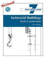 AISC-807-04 Design Guide 7: Industrial Buildings - Roofs to Anchor Rods (Second Edition)