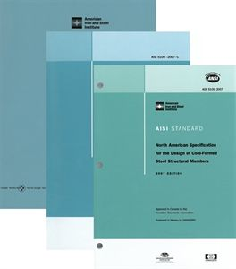 AISI S100-07 W/S2-10 - North American Specification For The Design Of Cold-Formed Steel Structural Members, 2007 Edition With Supplement 2