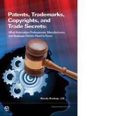 ISA-116242 Patents, Trademarks, Copyrights, and Trade Secrets: What Automation Professionals, Manufacturers, and Business Owners Need to Know