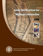 AASHTO-GSH-9 Guide Specifications for Highway Construction, 9th Edition