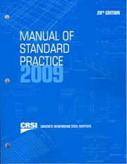 ACI-MSP-2009 Manual of Standard Practice, 28th Edition (Video Presentation)