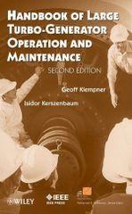 IEEE-16767-0 Handbook of Large Turbo-Generator Operation and Maintenance, 2nd Edition
