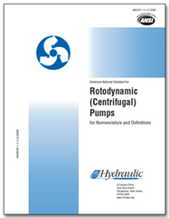 HI-B101 ANSI/HI 1.1-1.2-2014 Rotodynamic (Centrifugal) Pumps for Nomenclature & Definitions