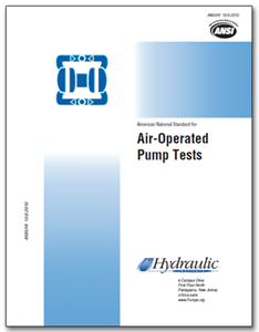 HI-B125 ANSI/HI 10.6-2010 Air-Operated Pump Tests