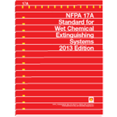 NFPA-17A(13): Standard for Wet Chemical Extinguishing Systems