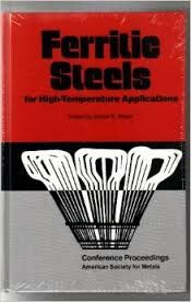 ASM-01537 Ferritic Steels for High-Temperature Applications, 1983 (NEW)