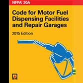 NFPA-30A(15): Code for Motor Fuel Dispensing Facilities and Repair Garages