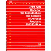 NFPA-30B(15): Code for the Manufacture and Storage of Aerosol Products