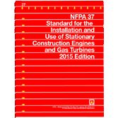 NFPA-37(15): Standard for the Installation and Use of Stationary Combustion Engines and Gas Turbines