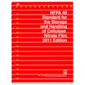 NFPA-40-(11): Standard for the Storage and Handling of Cellulose Nitrate Film
