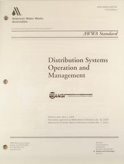 ANSI/AWWA-G200-04 Distribution Systems Operation and Management (Printed Copy)