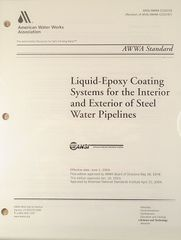 ANSI/AWWA-C210-03 Liquid-Epoxy Coating Systems for the Interior and Exterior of Steel Water Pipelines