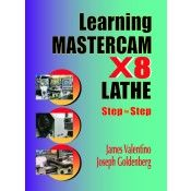IP-35119 Learning Mastercam X8 Lathe 2D Step by Step (Video Presentation)