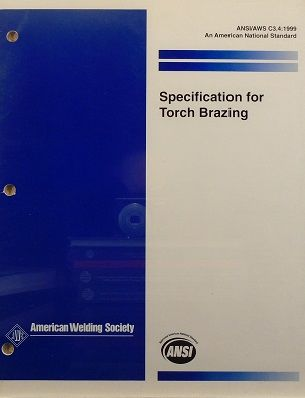 AWS-C3.4-1999 (ANSI/AWS) Specification for Torch Brazing (Historical)