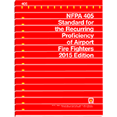 NFPA-405(15): Standard for the Recurring Proficiency of Airport Fire Fighters