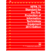 NFPA-75-(13) Standard for the Fire Protection of Information Technology Equipment